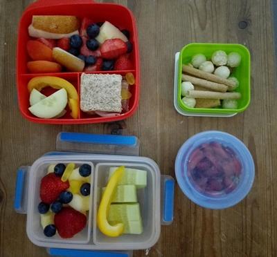 Empfehlenswerte Brotboxen, Flaschen und Helferlein