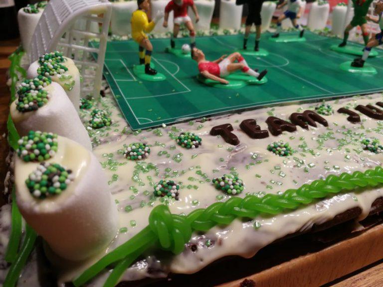 Read more about the article Geburtstagskuchen Fußball – endlich 6 Jahre alt