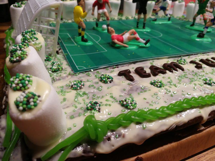 Geburtstagskuchen Fußball – endlich 6 Jahre alt