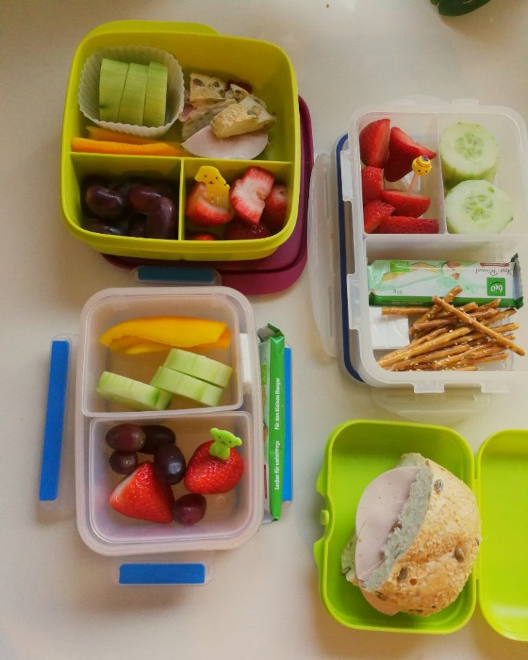 Kindergartenboxen – große Erdbeerliebe