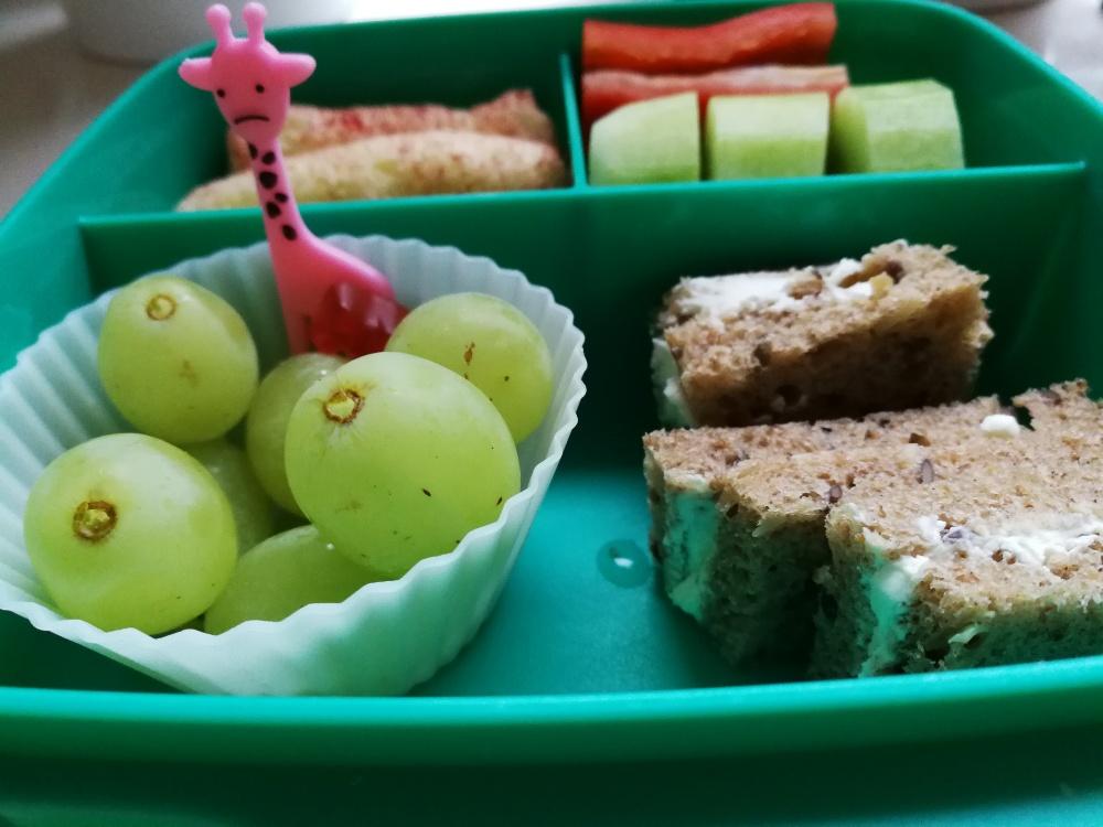 Was frühstücken die Kinder im Kindergarten?