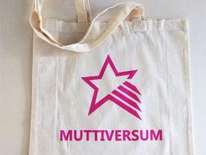 """XL-Jutebeutel """"Muttiversum"""""""
