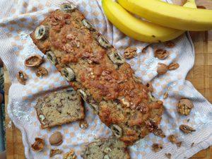 Bananenbrot (zuckerfrei, ohne Ei)