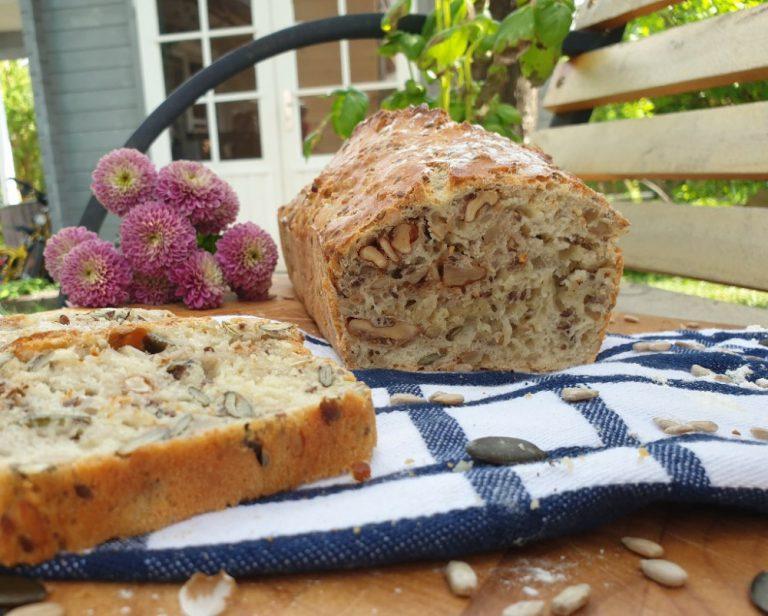 Dieses Brot werden du und deine Kinder lieben: Brot ohne Gehzeit