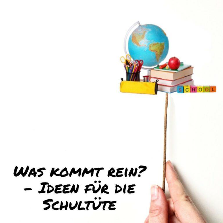 Read more about the article Was kann ich in die Schultüte packen?